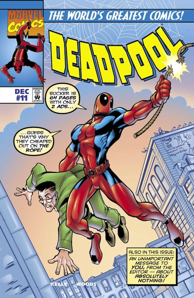 Deadpool 11 cover
