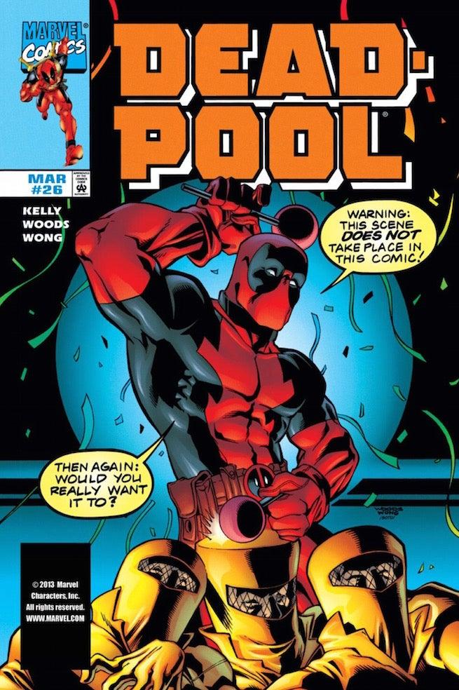 Deadpool fourth wall cover