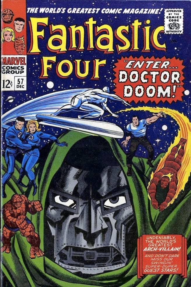 Fantastic Four 57 cover