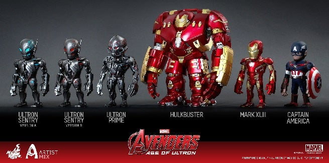 Hot Toys and Touma Announce Avengers: Age of Ultron Artist's Mix Series