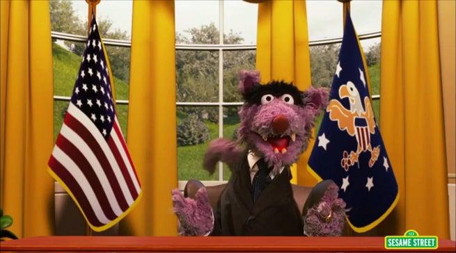 Sesame Street Parodies House Of Cards