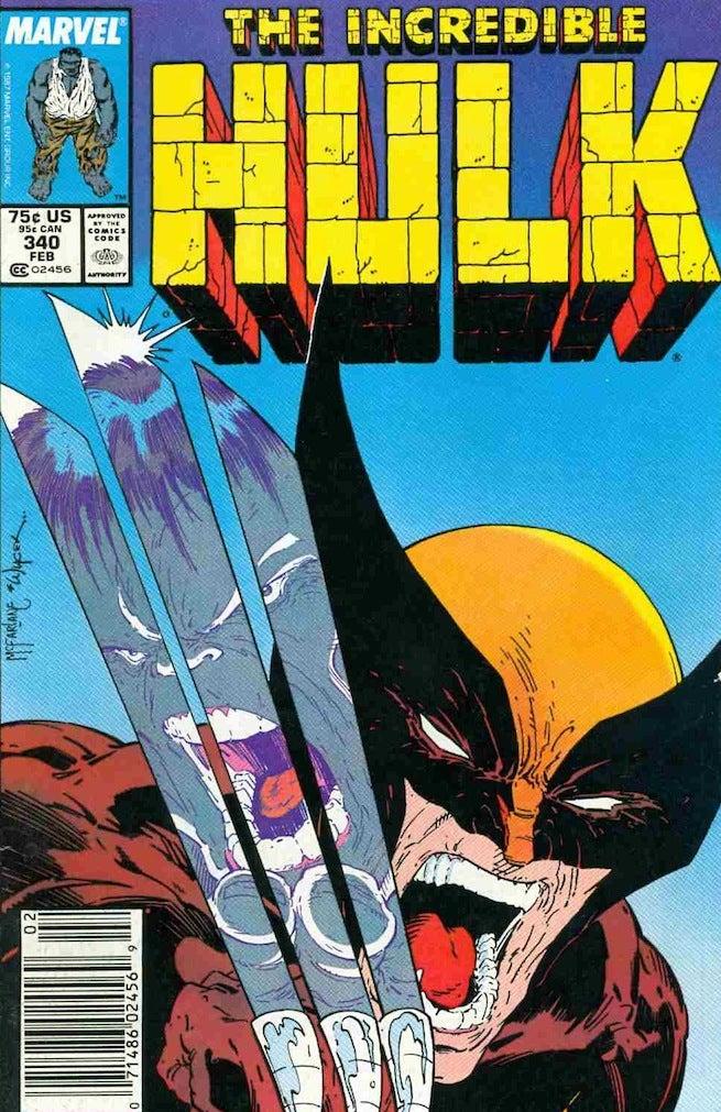 Incredible Hulk 340 cover