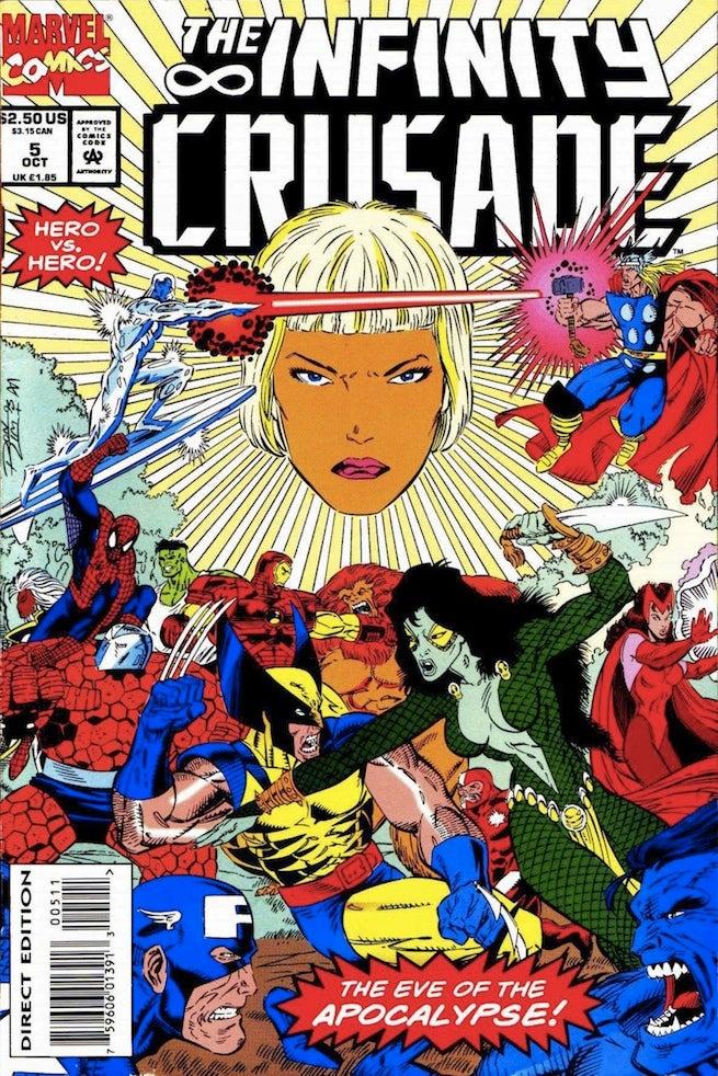 Infinity Crusade 5 cover