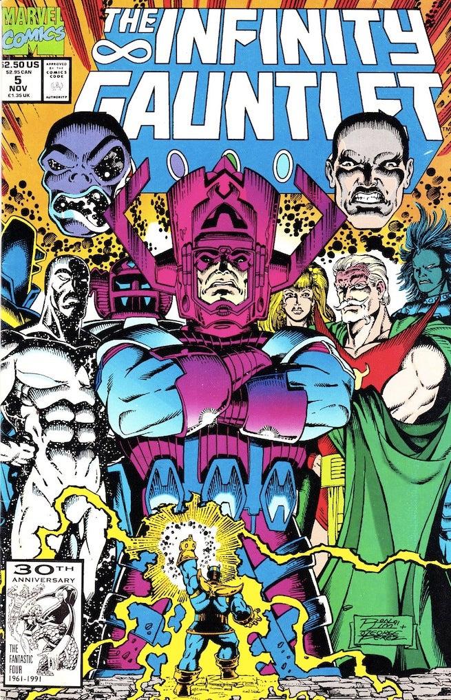 Infinity Gauntlet 5 cover