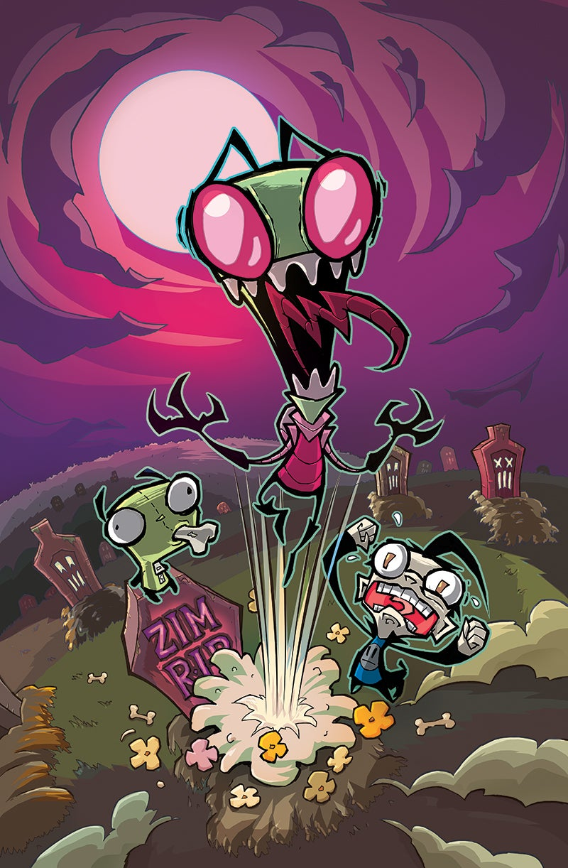 Invader Zim Comics Coming From Jhonen Vasquez and Oni Press