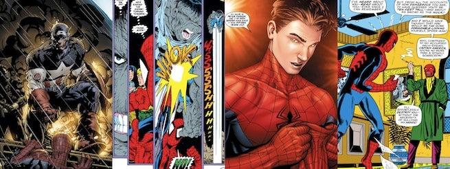 Marvel Sony Spider-Man Moments Banner