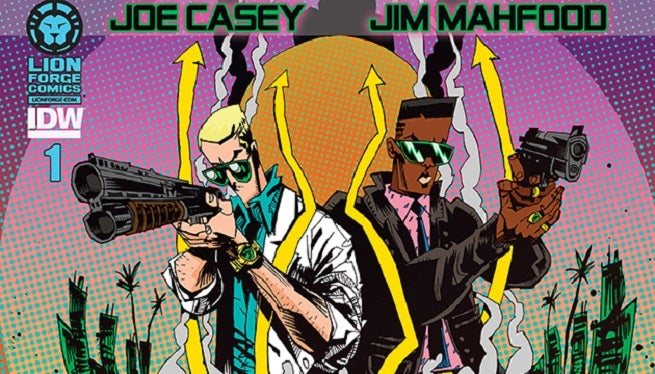 Miami Vice: Remix Creative Team Joe Casey and Jim Mahfood On Updating a TV Classic