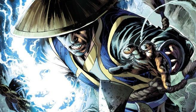 Mortal Kombat X 2 Print CoverREV top