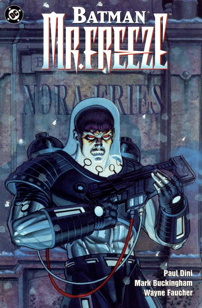 Mr. Freeze 1 cover