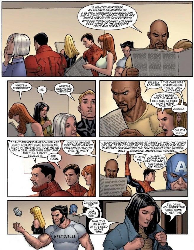 New Avengers Daily Bugle