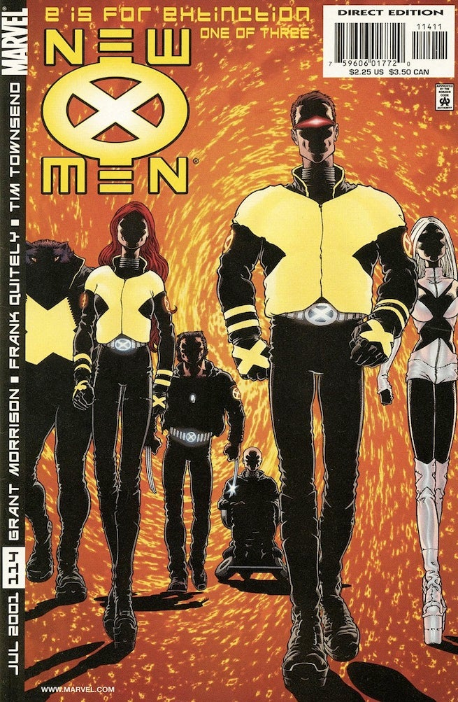 New X-Men 114 cover