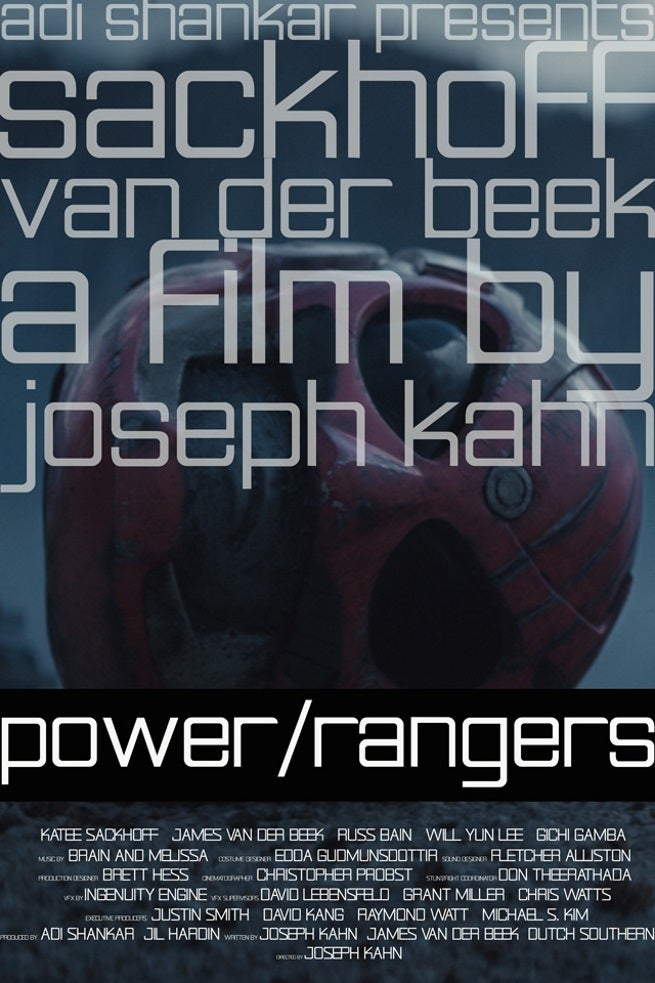 Power Rangers Poster Debut