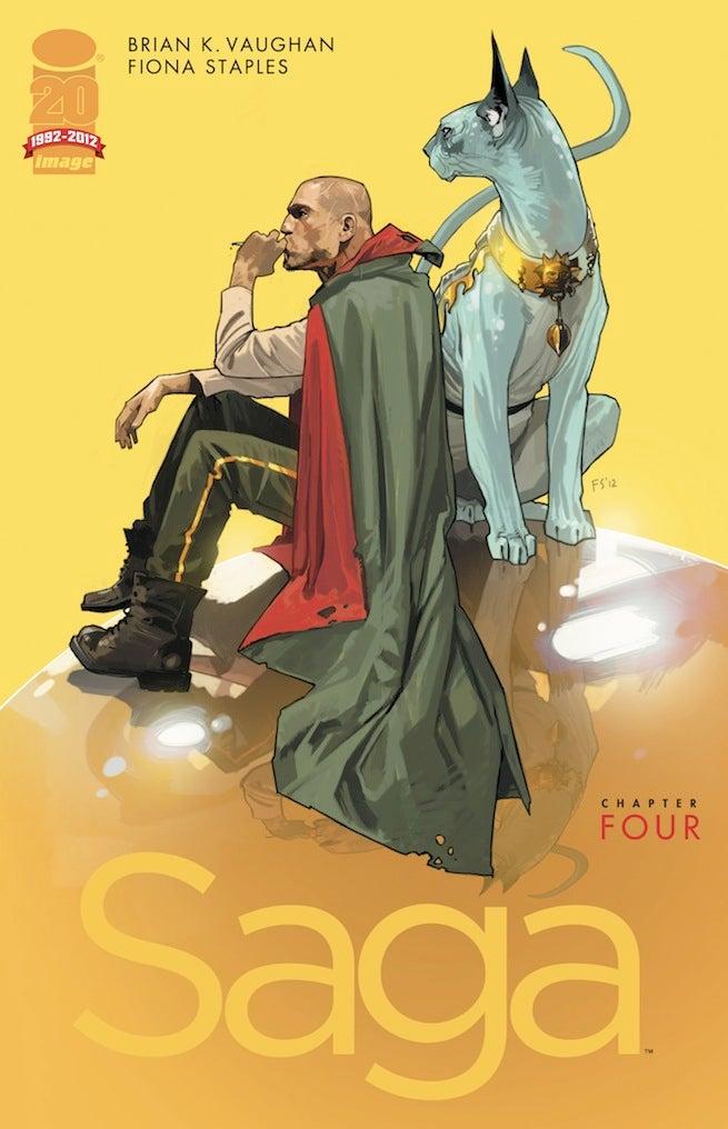 Saga 4 cover