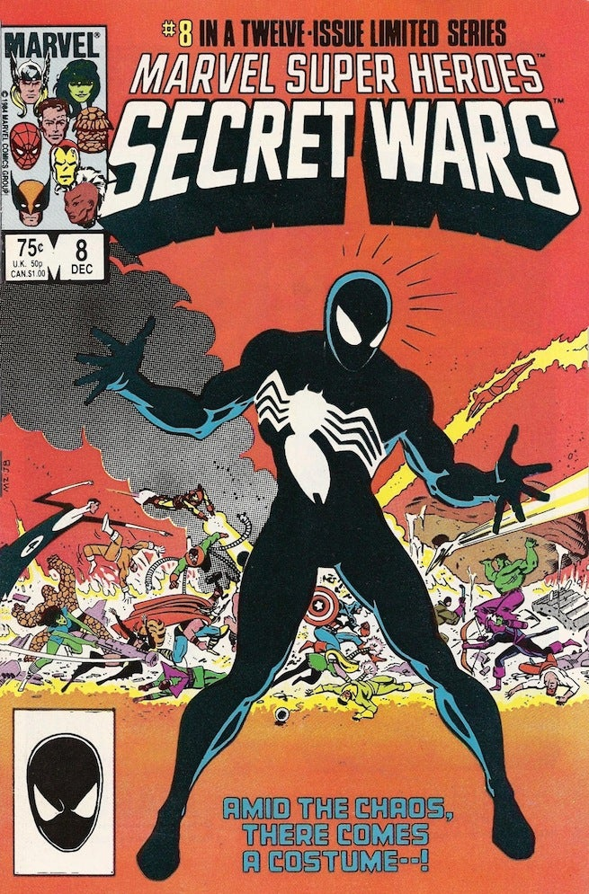 Secret Wars 8 cover