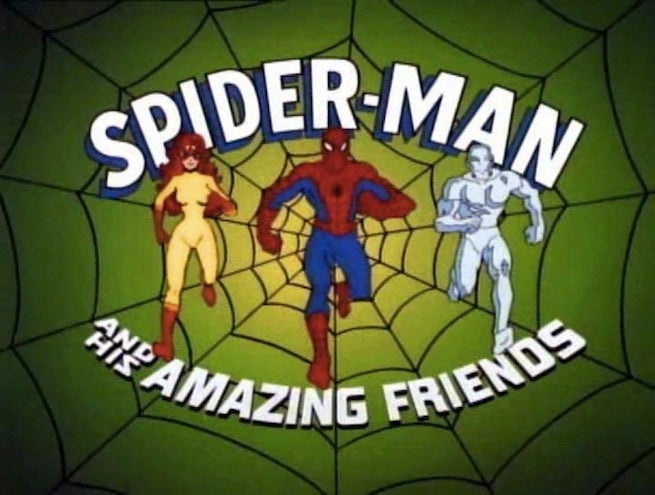 Spider-Man and Amazing Friends logo