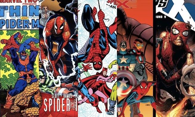 Spider-Man Avengers banner