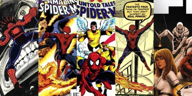 Spider-Man FF X-Men banner