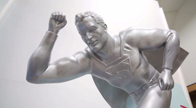 Superman Satue