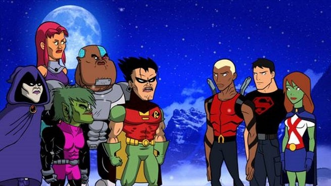 teen titans go lets get serious young justice