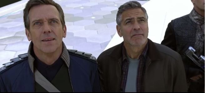 Tomorrowland clooney Laurie