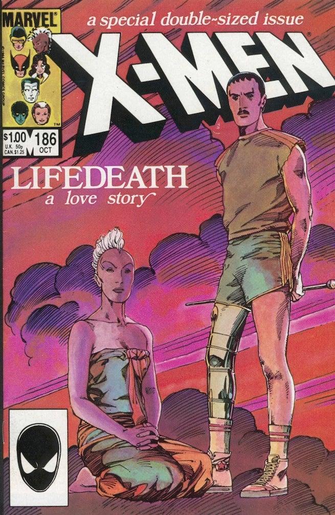 Uncanny X-Men 186 cover