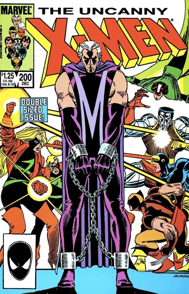 Uncanny X-Men 200 cover