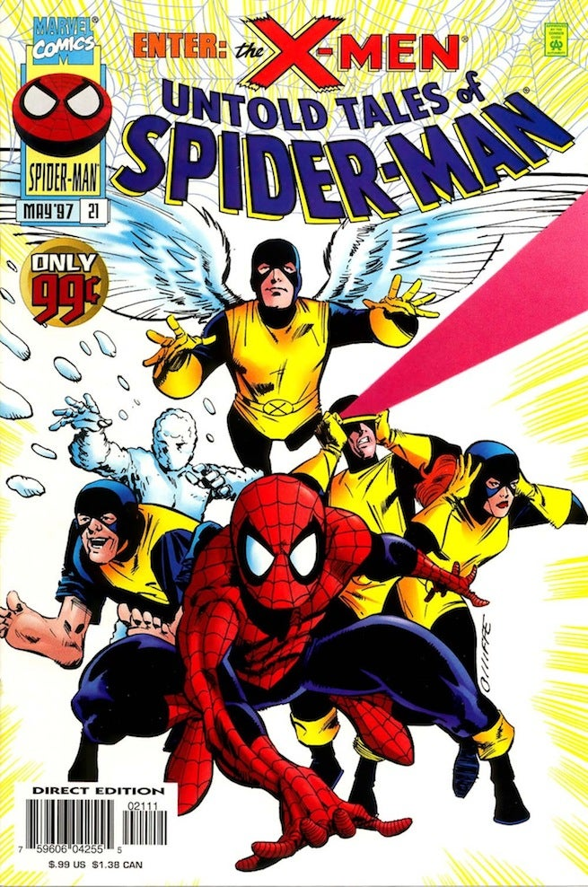 Untold Tales of Spider-Man 21 cover