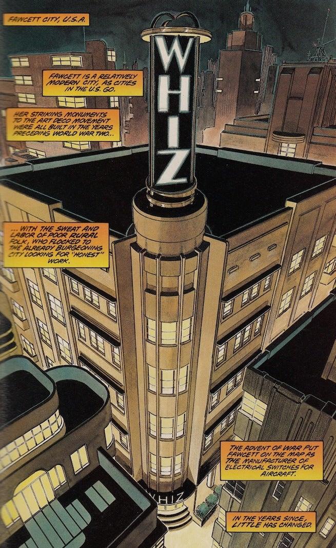 Whiz Building Power of Shazam