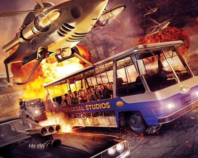 First Look At Fast & Furious - Supercharged Universal Studios Ride