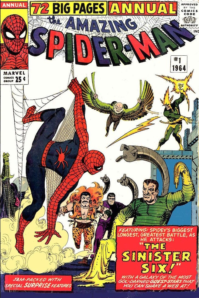 Amazing Spider-Man Annual 1 cover