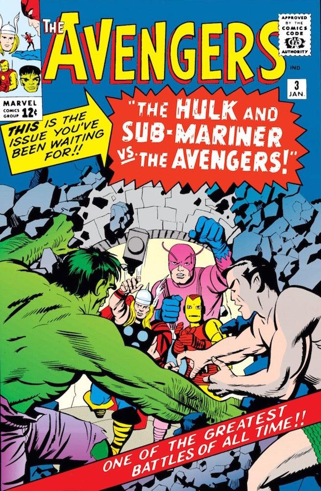 Avengers 3 cover