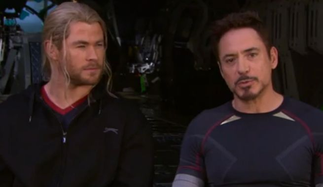 Avengers: Age Of Ultron Behind-The-Scenes Video Of Avengers Tower