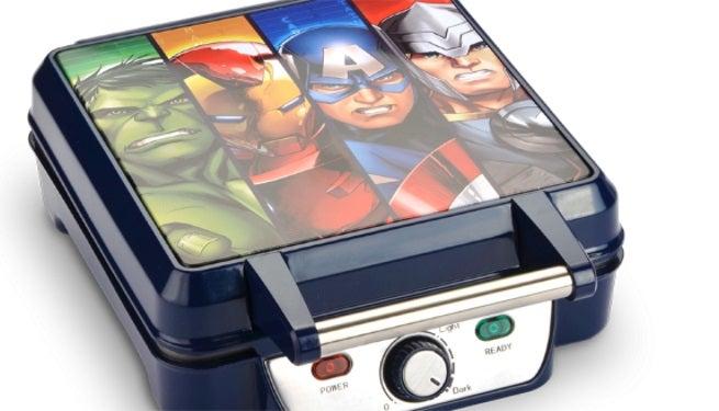 avengers waffle iron