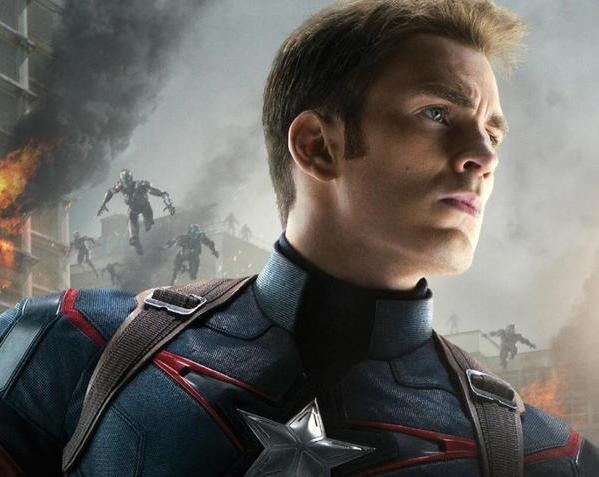 Avengers: Age Of Ultron Captain America Character Poster Released
