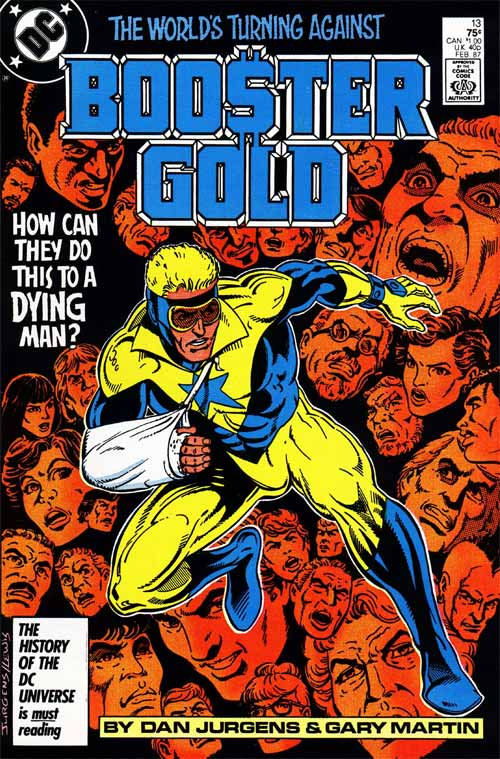 Booster Gold Haircut