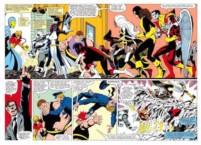 Brotherhood of Evil Mutants Mystique