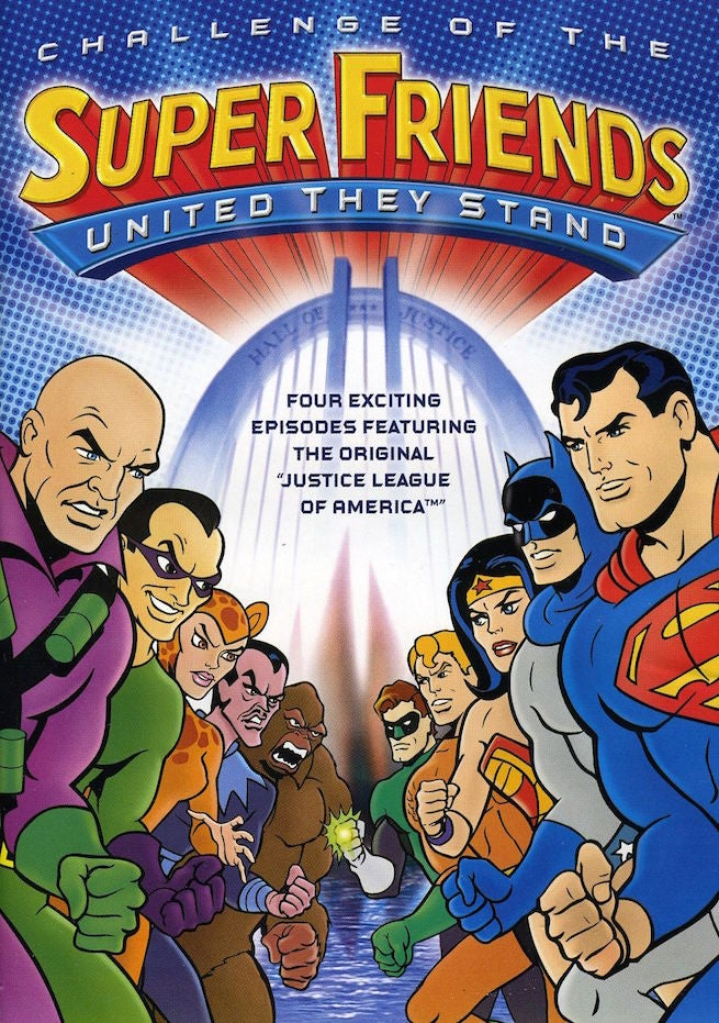Challenge of Superfriends DVD cover