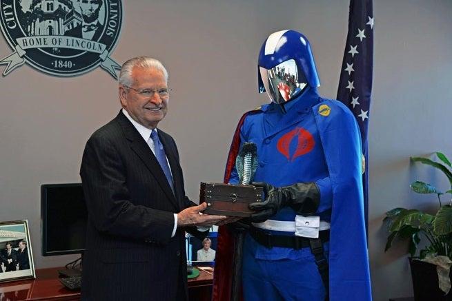 Cobra Commander in Springfield