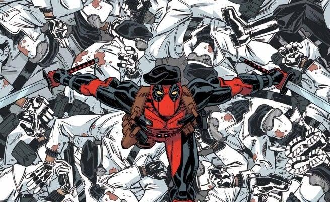 Deadpool 45 Cover top