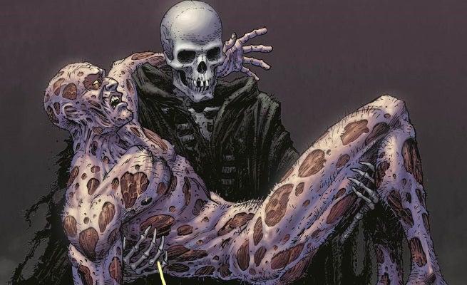 Deadpool 45 Moore Death of Deadpool Variant top