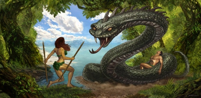 Rob liefeld to launch eve the garden of eden this year - Who was the serpent in the garden of eden ...