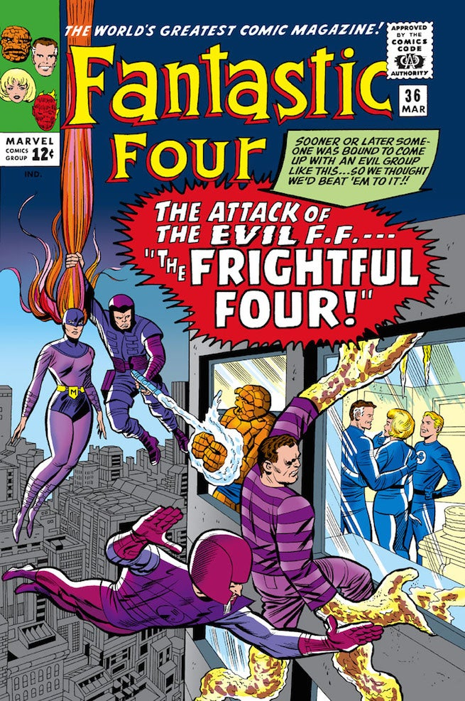 Fantastic Four 36 cover