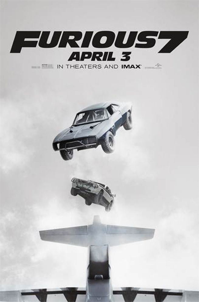 It's Raining Cars In New Furious 7 TV Spot