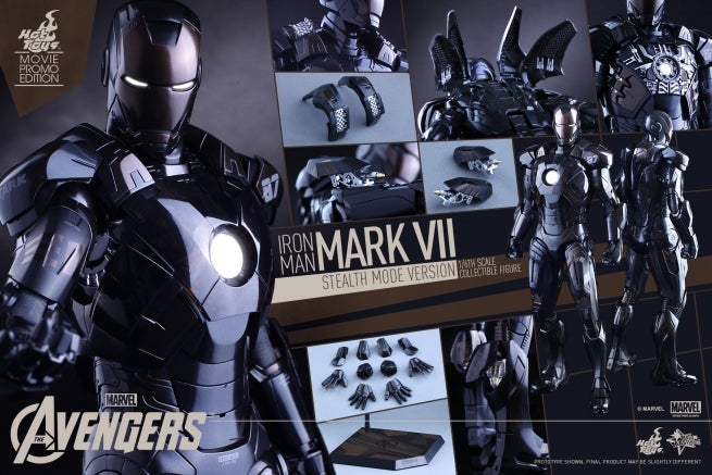 Hot Toys - Avengers - Mark VII (Stealth Mode Version) Collectible Figure_PR18