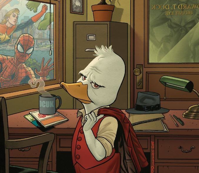 Howard the Duck - Quinones - Cover
