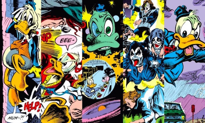 Howard the Duck Banner