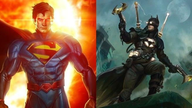 infinite crisis batman superman