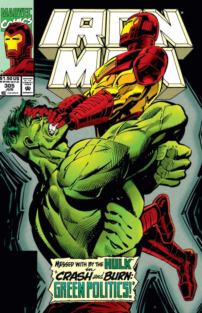 Iron Man 305 cover
