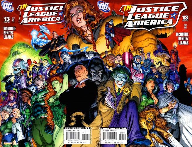JLA 13 cover