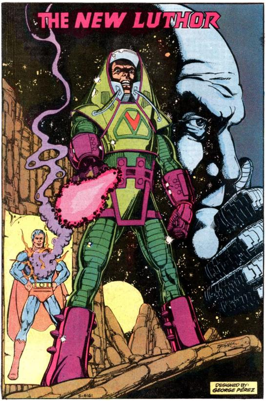 Lex Luthor with warsuit